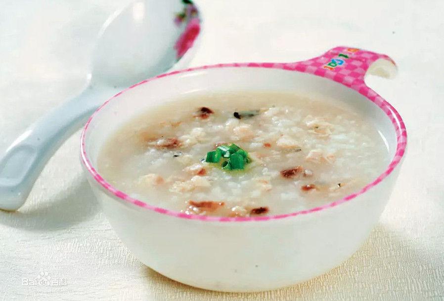 鱼肉牛奶粥